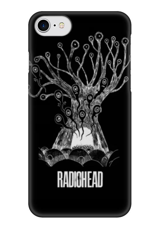 Чехол для iPhone 7 глянцевый Printio Radiohead cd из японии radiohead