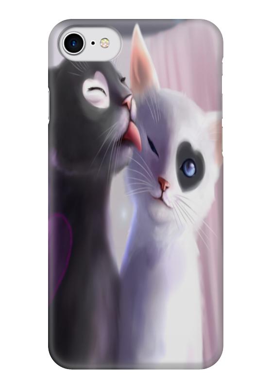 Чехол для iPhone 7 глянцевый Printio Кошки для кошки