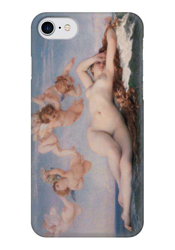 Чехол для iPhone 7 глянцевый Printio Рождение венеры (картина кабанеля) print bar рождение венеры