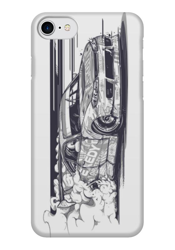 Чехол для iPhone 7 глянцевый Printio Nissan silvia s15