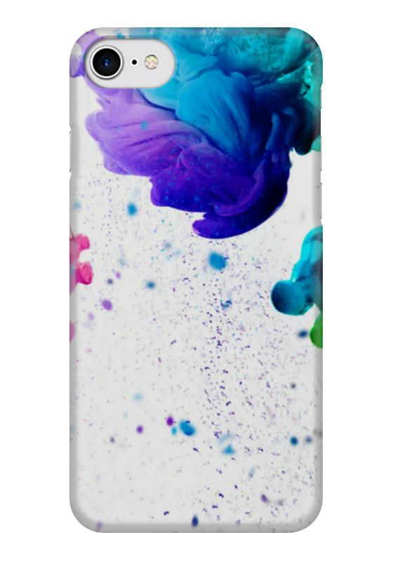 Чехол для iPhone 7 глянцевый Printio Краски чехол для iphone 7 глянцевый printio джунгли