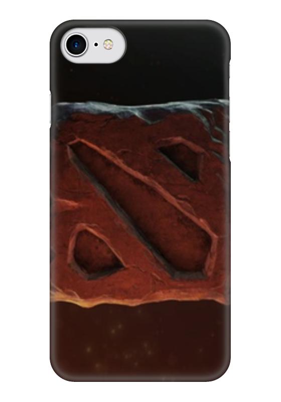 Чехол для iPhone 7 глянцевый Printio Dota 2 чехол для iphone 5 глянцевый с полной запечаткой printio dota 2 shadow fiend