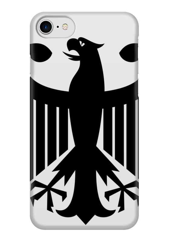Чехол для iPhone 7 глянцевый Printio Орлиные крылья крылья для старк луна