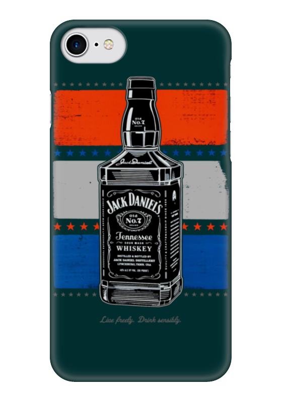 Чехол для iPhone 7 глянцевый Printio Jack daniels чехол для iphone 7 глянцевый printio jack daniels