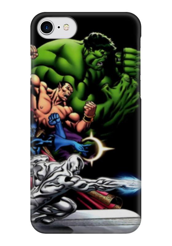 Чехол для iPhone 7 глянцевый Printio Супергерои комиксов чехол для iphone 7 глянцевый printio супергерои комиксов