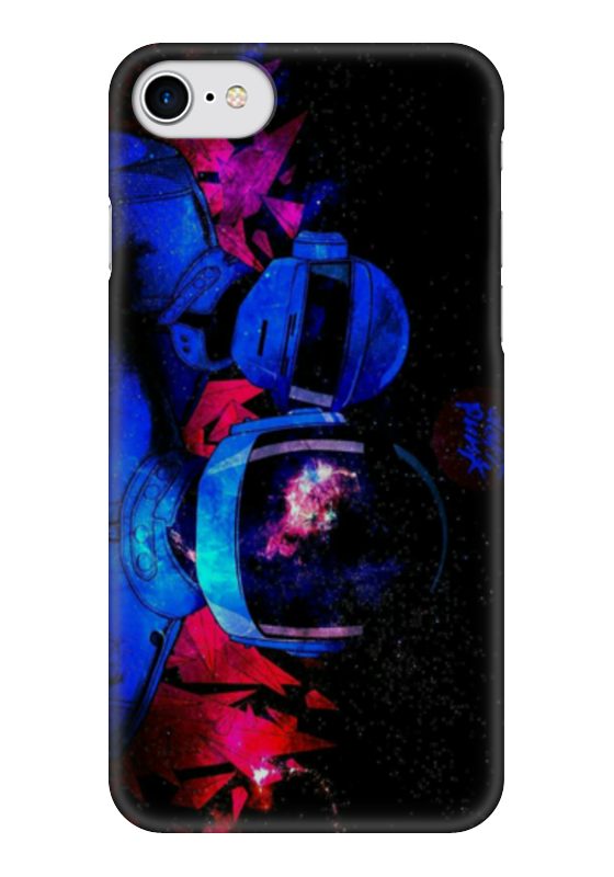 Чехол для iPhone 7 глянцевый Printio Daft punk чехол для iphone 7 глянцевый printio альтрон мстители