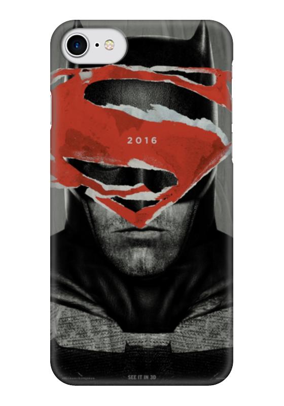 Чехол для iPhone 7 глянцевый Printio Batman чехол для iphone 7 глянцевый printio horror art