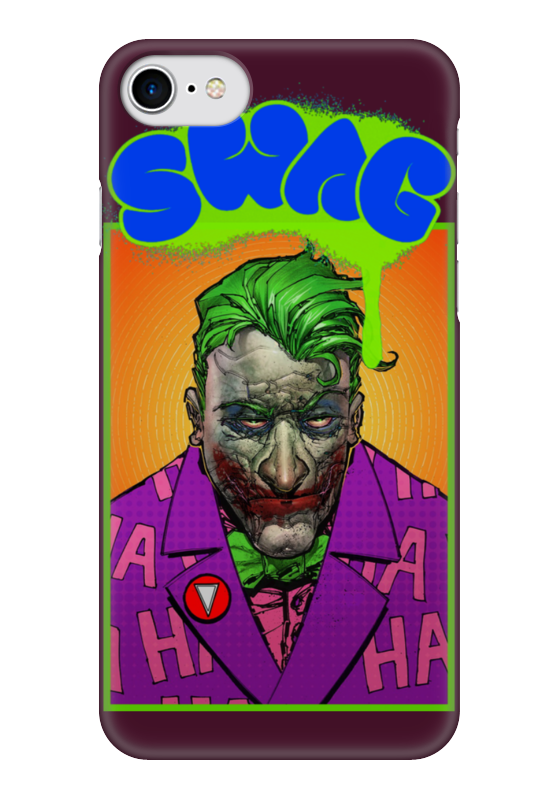 Чехол для iPhone 7 глянцевый Printio Swag art чехол для iphone 7 глянцевый printio horror art