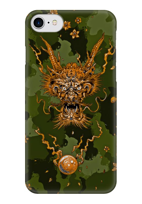 Чехол для iPhone 7 глянцевый Printio Демон чехол для iphone 7 глянцевый printio horror art