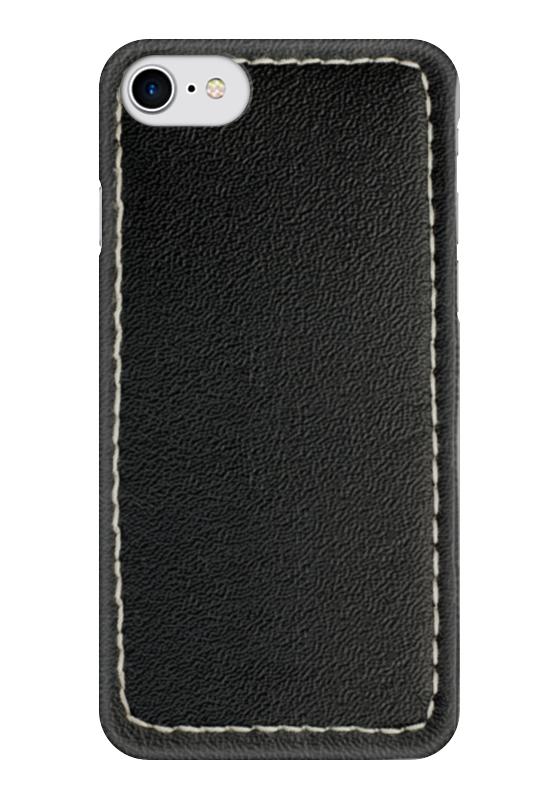 Чехол для iPhone 7 глянцевый Printio Кожа с прошивкой чехол для iphone 5 глянцевый с полной запечаткой printio хлоя морец