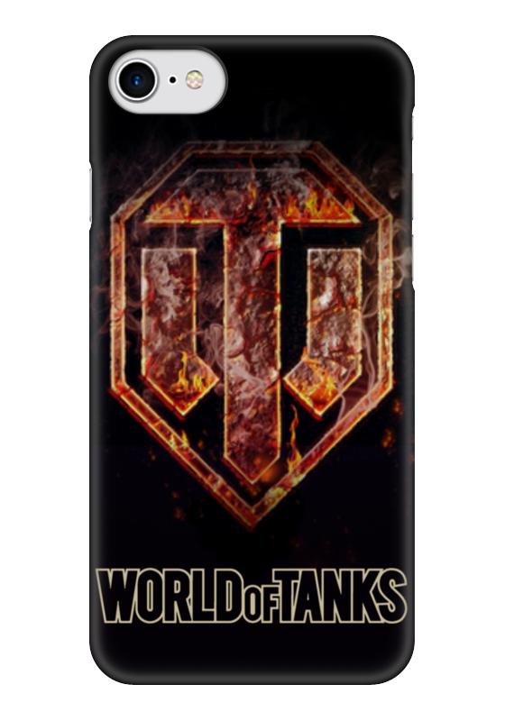 Чехол для iPhone 7 глянцевый Printio World of tanks чехол для iphone 6 глянцевый printio world of warcraft