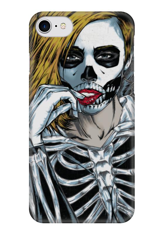 Чехол для iPhone 7 глянцевый Printio Кобра кай клод изнер мумия из бютт о кай page 7