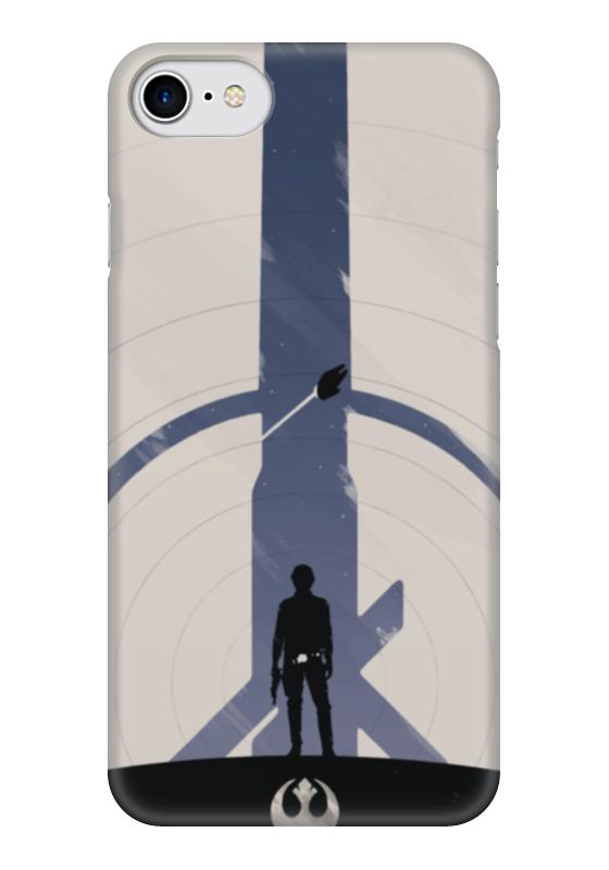 Чехол для iPhone 7 глянцевый Printio Star wars han solo / звездные войны хан соло фигура star wars звездные войны хан соло 79 см