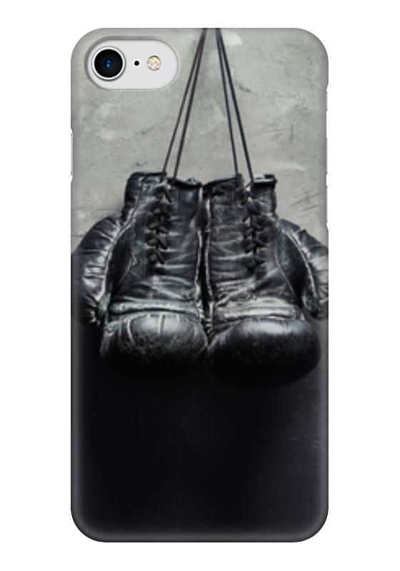 Чехол для iPhone 7 глянцевый Printio Боксерские перчатки боксерские перчатки в магазинах москвы