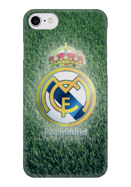 "Чехол для iPhone 7 глянцевый ""Реал Мадрид (Футбол)"" - real, football, реал мадрид"