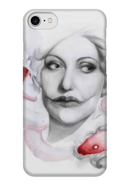 """Чехол для iPhone 7 глянцевый """"Madeleine"""" - фильм, змеи, дом терпимости, мадлен"""
