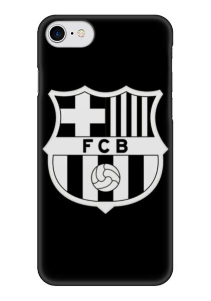 """Чехол для iPhone 7 глянцевый """"Барселона (Барса)"""" - барселона, fcb, barca, барса"""