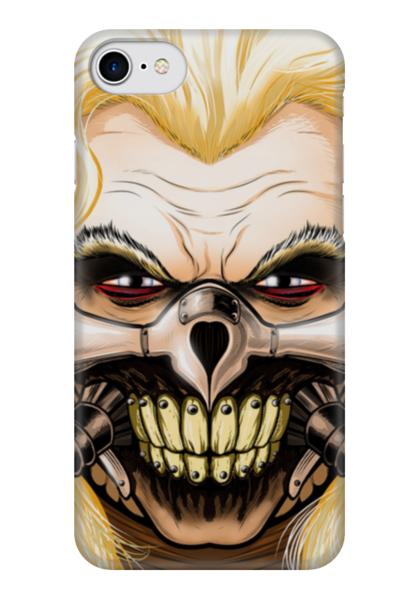 """Чехол для iPhone 7 глянцевый """"Несмертный Джо"""" - mad max, безумный макс, immortan joe, джо"""