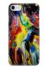 """Чехол для iPhone 7 глянцевый """"Абстракция"""" - узоры, рисунок, разводы, абстракция, арт дизайн"""