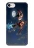 """Чехол для iPhone 7 глянцевый """"Ведьма на метле"""" - ведьма, фильмы, ужасы, фэнтази"""