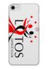 "Чехол для iPhone 7 глянцевый ""Whity"" - лотос, lotos, тск лотос, lotos dance"