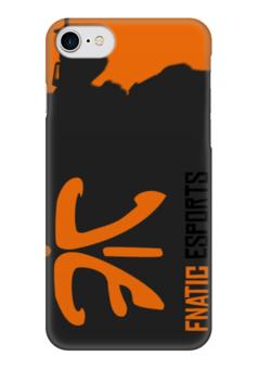 """Чехол для iPhone 7 глянцевый """"fnatic"""" - фнатик, fnatic, ксго"""