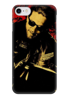 "Чехол для iPhone 7 глянцевый ""Sons of Anarchy"" - сериалы, sons of anarchy, сыны анархии, джекс теллер"