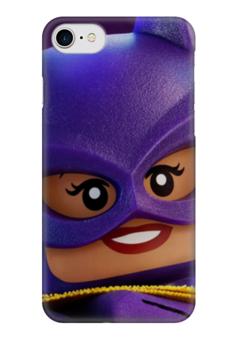 """Чехол для iPhone 7 глянцевый """"Женщина-кошка (Catwoman)"""" - женщина-кошка"""
