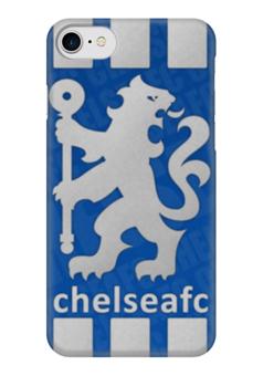"""Чехол для iPhone 7 глянцевый """"Chelsea (Челси)"""" - челси, chelsea"""