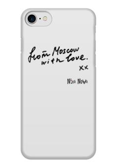 "Чехол для iPhone 7 глянцевый ""From Moscow with Love"" - nikanova"