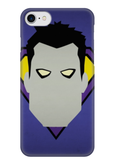 """Чехол для iPhone 7 глянцевый """"Dc comics"""" - dc, comix, dc comics, комиксы, мультфильмы"""