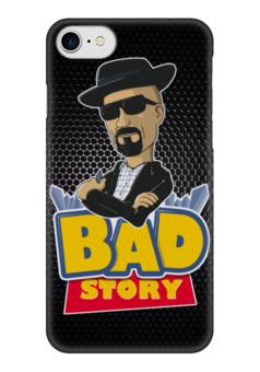 "Чехол для iPhone 7 глянцевый ""Breaking Bad x Toy Story"" - во все тяжкие, breaking bad, история игрушек, toy story"