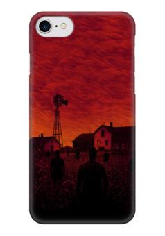 "Чехол для iPhone 7 глянцевый ""Apocalypse"" - апокалипсис, apocalypse"