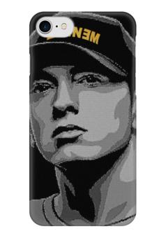 """Чехол для iPhone 7 глянцевый """"Eminem"""" - eminem, эминем"""