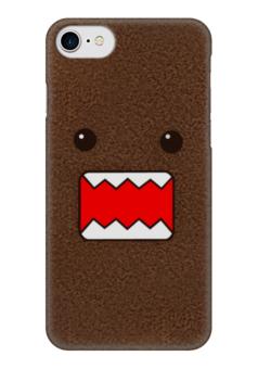 """Чехол для iPhone 7 глянцевый """"Domo Kun JDM"""" - jdm, japan, талисман, домо-кун, domokun, nhk"""
