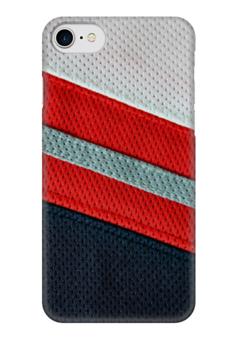 """Чехол для iPhone 7 глянцевый """"Хоккейная Форма"""" - хоккей, хоккеист, ice hockey, хоккейная форма"""