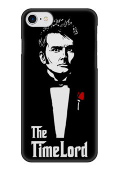 "Чехол для iPhone 7 глянцевый ""Time Lord (Doctor Who)"" - doctor who, доктор кто, the godfather, the time lord"