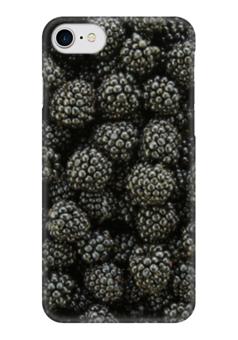 """Чехол для iPhone 7 глянцевый """"Ежевичное Настроение"""" - ежевика, blackberry, ежевичное настроение"""