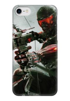 "Чехол для iPhone 7 глянцевый ""Кризис"" - игры, кризис, crysis, шутер"