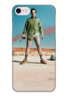 """Чехол для iPhone 7 глянцевый """"во все тяжкие"""" - сериалы, фильмы, во все тяжкие, breaking bad"""