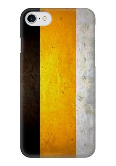"""Чехол для iPhone 7 глянцевый """"Российская Империя (Флаг)"""" - россия, russia"""