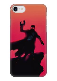 """Чехол для iPhone 7 глянцевый """"Star lord"""" - марвел, комиксы, звездный лорд, стражи галактики, guardians of the galaxy"""