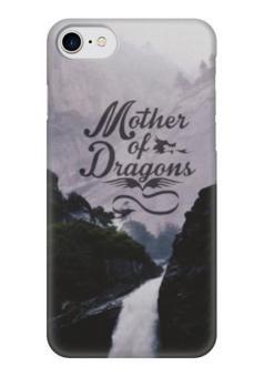 """Чехол для iPhone 7 глянцевый """"Mother of Dragons"""" - чехол, игра престолов, iphone7"""
