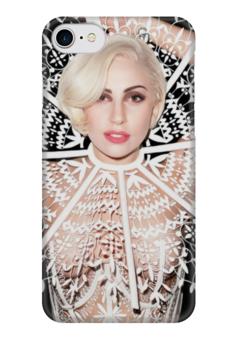 """Чехол для iPhone 7 глянцевый """"LADY GAGA"""" - lady gaga, леди гага, гага, artpop, артпоп"""
