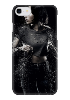 "Чехол для iPhone 7 глянцевый ""Дивергент"" - insurgent, divergent series, zoe kravitz"