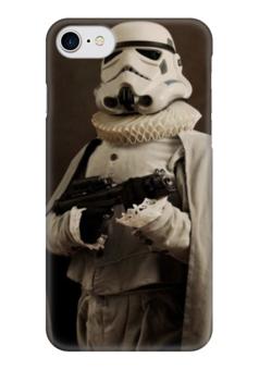 """Чехол для iPhone 7 глянцевый """"Super Flamands"""" - stormtrooper, звёздные войны, штурмовик, super flamands"""