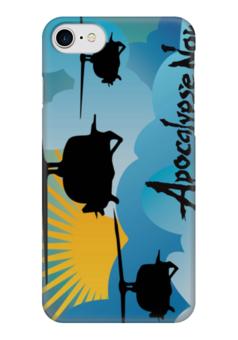 """Чехол для iPhone 7 глянцевый """"Вертолеты (Апокалипсис Сегодня)"""" - apocalypse now, heli"""