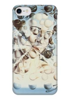 "Чехол для iPhone 7 глянцевый ""Сальвадор Дали / Galatea"" - арт, сальвадор дали, иллюстрация, salvador dali, dali, galatea"
