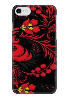 """Чехол для iPhone 7 глянцевый """"Пёстро-Модный"""" - узор, узоры, модный, пёстрый, пёстрый узор"""