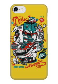 """Чехол для iPhone 7 глянцевый """"Nike Art"""" - спорт, artwork, nike, найк, арт дизайн"""